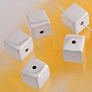 Silverbead Cube 8 mm