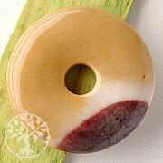 Mookait Steinscheibe Donut Groß