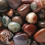 Agate Moss Tumbled Stones 0,5kg