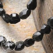 Turmalin Perlen schwarz