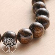 Bronzit Edelstein-Perlen 10mm