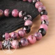 Gemstone-Beads in Rhodonite 8 mm