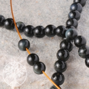 Tiger Eye Blue Mini Gemstone-Beads 6 mm