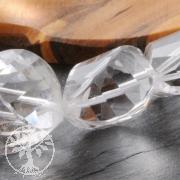 Bergkristall gedreht facettiert ca.26mm