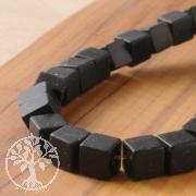 Obsidian Schwarze Würfel