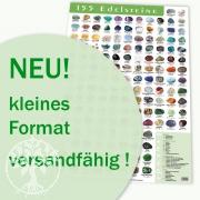 Edelsteine Poster Grün A3