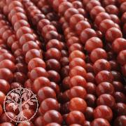 Koralleperlen 8 mm Perlen aus roter Koralle