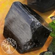 Schwarzer Turmalin Rohstück groß Doppelender 60*80x40*60mm 280-340Gramm