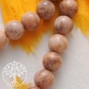 Mondstein Perlen Kugel 10mm A-Qualität