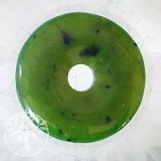 Nephrit Jade Donut 30 mm