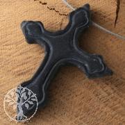 Gothic Kreuz aus Onyx