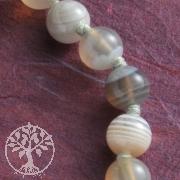 Halskette Achat natur