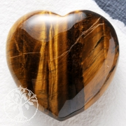 Tigers Eye Heart 35mm A
