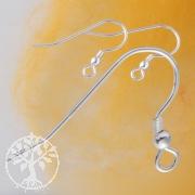 French Hook 18x22 mm Sterlingsilver Earring Hooks