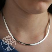 Silber Halsreif 5mm Silber 925