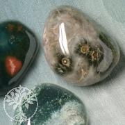 Ocean Jaspis Stein 3 Stück