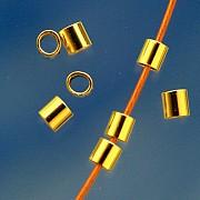 Crimptube goldfilled 2x2 mm