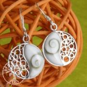 Shiva Earrings Yin Yang