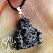 Obsidian Stein Buddha Anhänger