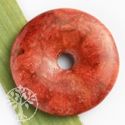 Koralle Donut Scheibe