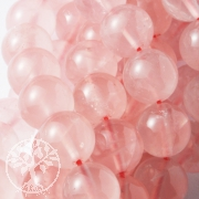 Rose Quartz Gemstones Beads, round Beads, AAA transparenty Quality