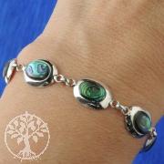 Perlmutt Armband Silber