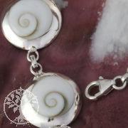 Shiva Bracelet Silver round