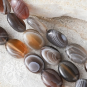 Agate Nature Beads oval