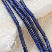 Sodalith Walzen Schmuck Perlen ca.14*4mm 40cm Länge