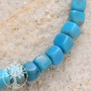 Turquoise Gemstone Beads Cube 4mm