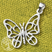 Silver Pendent Butterfly