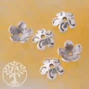 Perlenkappen Silber 925 Bananen