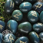 Runen Schriftsteine Heliotrop