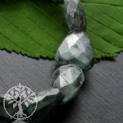 Smaragd Edelstein Armband facettiert