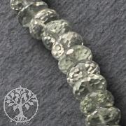 Prasiolith Schmuckperlen 9mm Ø 40cm grüner Prasiolit