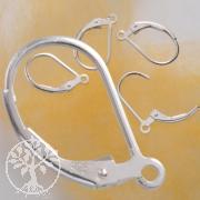 Klappbrisur Brisur einfach Silber 925 10 Stk.