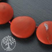 Red Jasper matt Gemstone Beads