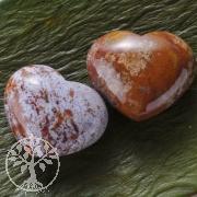 Ozean Jaspis Herz Handschmeichler klein