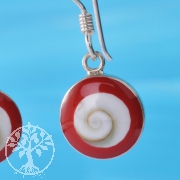 Shiva Coral Earring