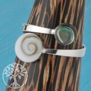 Silver Ring Shiva Nacre