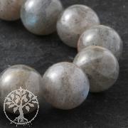 Labradorite Gemstone Ball Beads