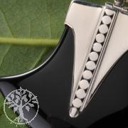 Silber925 Anhaenger Black Stone