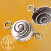Silver Bead Summer Snail