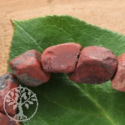 Red Jasper Rough Beads 40cm strand loose beads natural