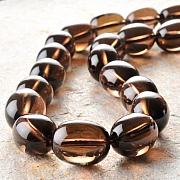 Smokey Quarz beads 16*12mm