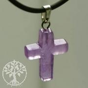 Amethyst Cross Pendant small