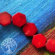 Coral Jewelry Beads Hexagon