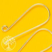 Earhook Extralong Design 35 x 14 mm silver 925