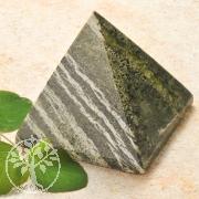 Silver Eye Gemstone Pyramid