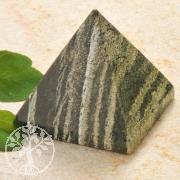 Silver Eye Pyramid Gemstone Figure